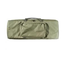 Кейс А-8-1з из капрона зелен.с карман. с отделен.